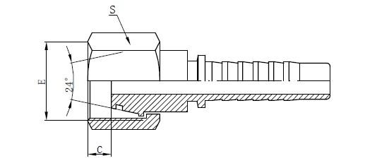 Pezzi di ricambio per componenti idraulici