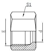 Disegno idraulico delle viti di fissaggio
