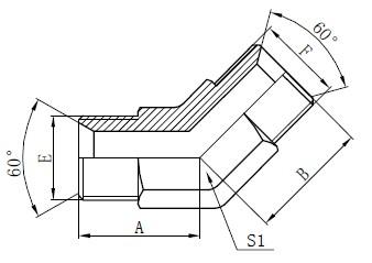 Disegno di raccordi per tubi industriali