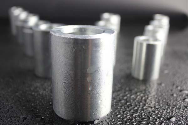 Collare del tubo flessibile in acciaio dolce